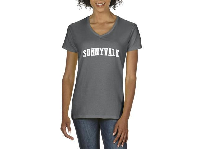 Artix Sunnyvale  Women's V-Neck T-Shirt Tee Clothes