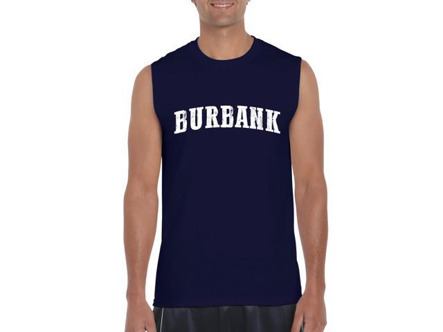 Artix Burbank  Ultra Cotton Sleeveless Men's T-Shirt