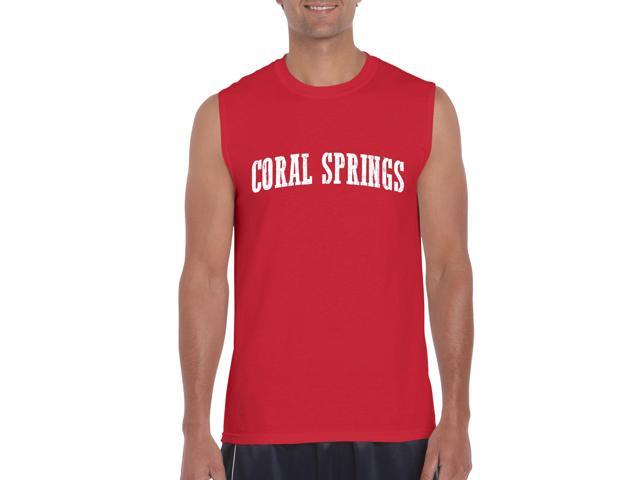 Artix Coral Springs  Ultra Cotton Sleeveless Men's T-Shirt