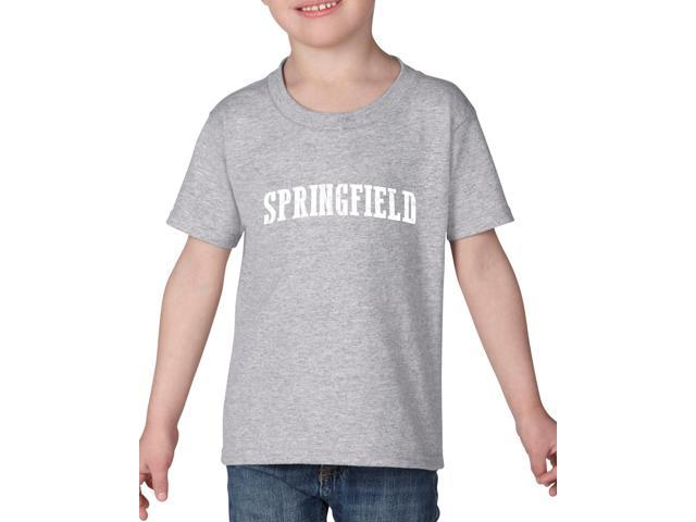 Artix Springfield  Heavy Cotton Toddler Kids T-Shirt Tee Clothing