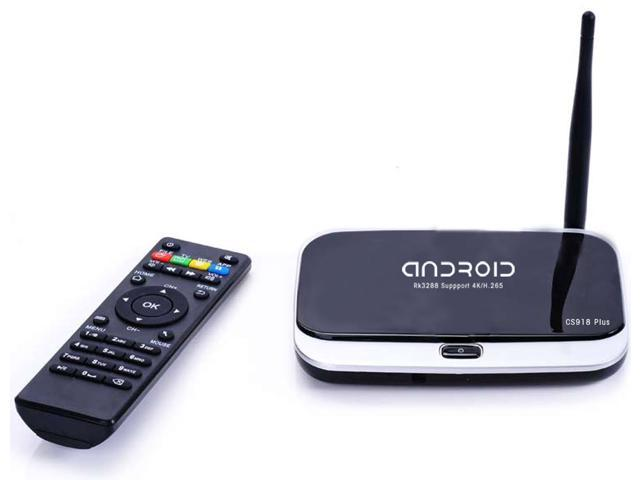 Upgraded Version CS918 Plus Rk3288 Smart Android Tv Box Quad Core 2G RAM 8G ROM Cortex A17 Android 4.4 Mini Pc Wifi Media Player