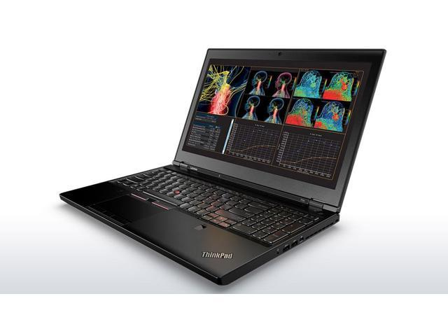 Lenovo ThinkPad P50 Mobile Workstation Laptop - Windows 7 Pro - Intel i7-6700HQ, NVIDIA Quadro M1000M 4GB VRAM, 64GB RAM, 1TB PCIe NVMe SSD + 1TB HDD, 15.6