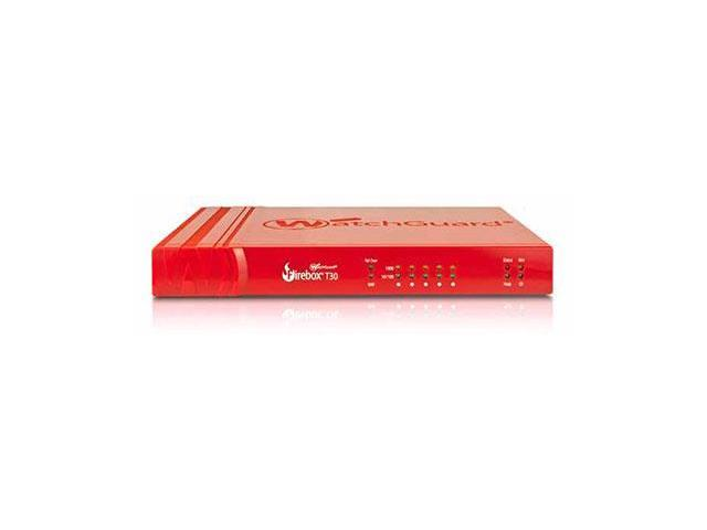 WatchGuard Firebox T30 and 3-yr Standard Support (US)
