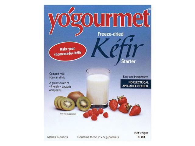 Yogourmet Freeze-Dried Kefir Starter Set 6 Packet(s)