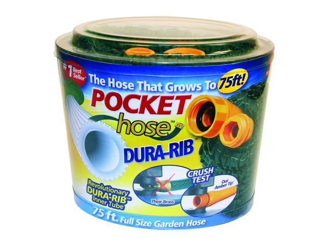 ... pocket hose dura rib 75ft pocket hose dura rib 75ft be the first to