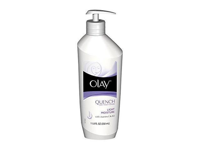Olay quench daily body lotion, deep skin moisturizer, 11.8 oz