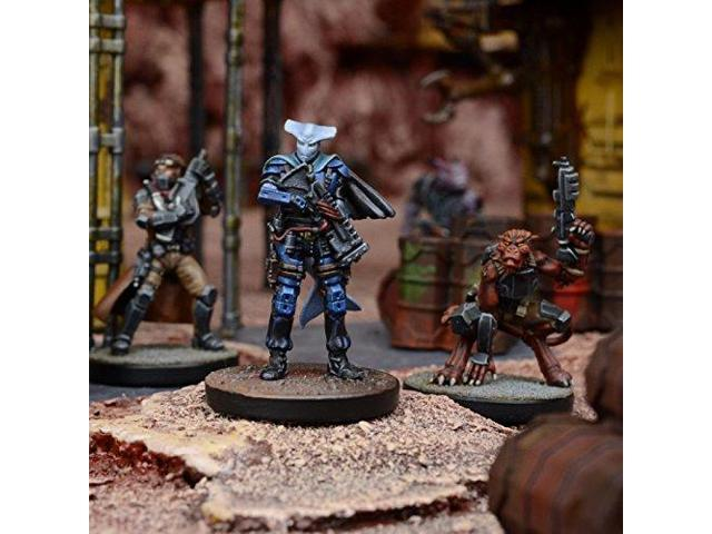 Mantic Games MGCDZR201 Deadzone Asterians 2E-Adrienne Nikolovski Rebel Command