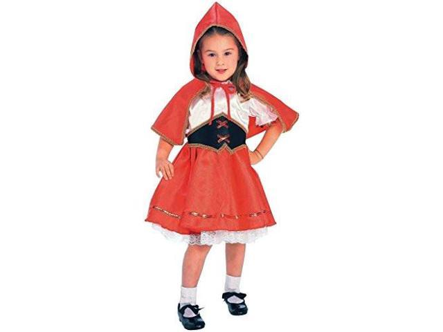 Girls Deluxe Little Red Riding Hood Costume - Red Riding Hood Costumes
