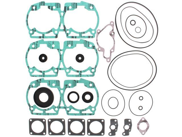 Complete Gasket Kit w/ Oil Seals Ski-Doo SUMMIT 670 670cc 1996 1997 1998 1999