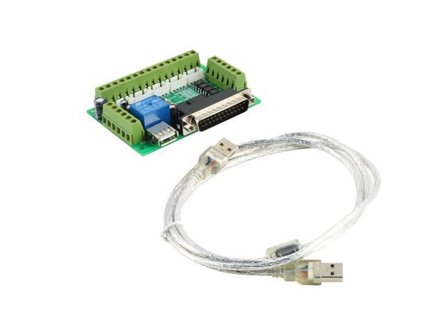 Cnc 5 axis interface breakout board for stepper motor driver cnc cnc 5 axis interface breakout board for stepper motor driver cnc mill mach3 fandeluxe Images