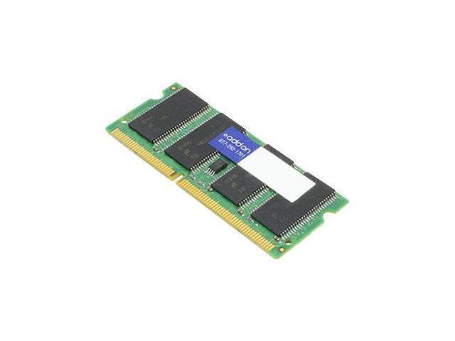 Addon DDR3 - 2 GB - SO DIMM 204-pin - 1066 MHz / PC3-8500 - CL7 - 1.5 V - unbuffered - non-ECC - for Panasonic Toughbook 19, 31, 31 Performance, 31 Standard, 31 Value, 52, C1, F9CF-WMBA902G-AAK
