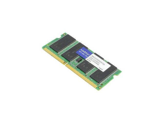 Addon DDR3 - 4 GB - SO DIMM 204-pin - 1333 MHz / PC3-10600 - CL9 - 1.5 V - unbuffered - non-ECC - for Lenovo ThinkPad R400; R500; SL410; SL510; T400; T410; T510; W510; W70X; X201; X201 Tablet55Y3708-A