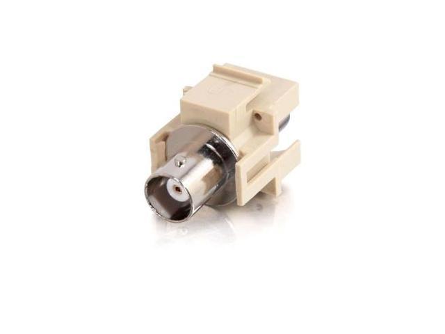 C2G 03811 Premise Plus Snap-In - Modular Insert - Bnc - Ivory