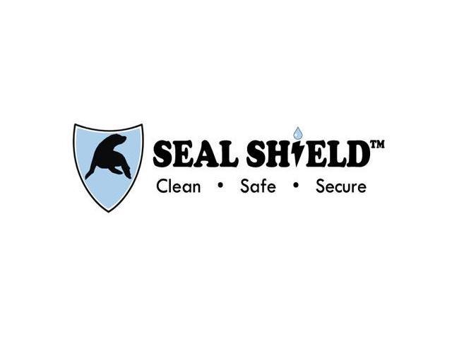 Seal Shield SSWKSV207L Silver Seal Waterproof Keyboard, Antimicrobial Product Protection, Plastic Stand