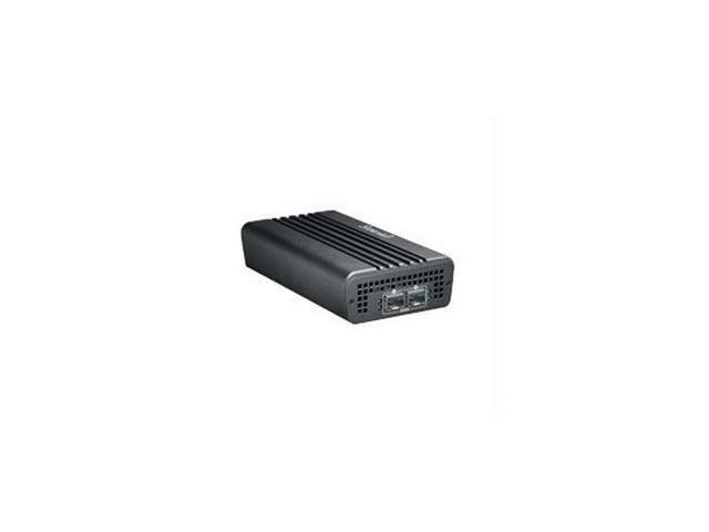 Promise Technology SLE2002PNAA Sanlink2 Two Tb2 To Two 10Gsfp+ Ethernet Adapter W/1 M Tb 2 Cable