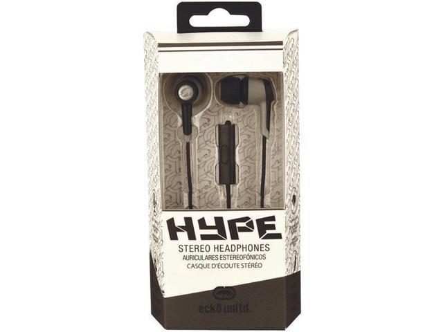 Ecko EKU-HYP-BK Hype Earbuds With Microphone (Black)