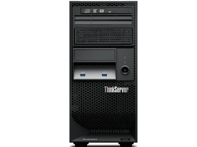 Lenovo 70A4003CUX Thinkserver Ts140 70A4 - Server - Tower - 4U - 1-Way - 1 X Xeon E3-1246V3 / 3.5 Ghz - Ram 4 Gb - No Hdd - Dvd-Writer - Hd Graphics P4600 - Gige - No Os - Monitor : None