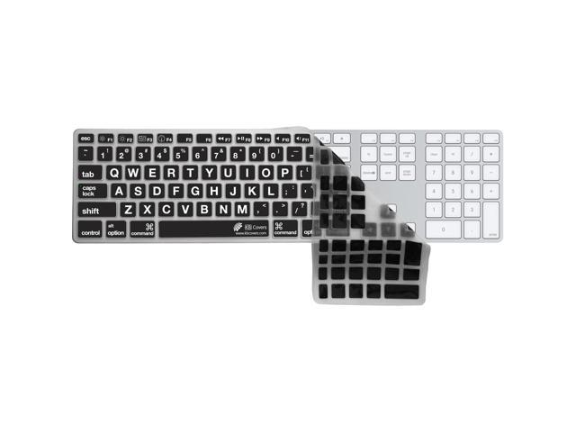 KB Covers Large Type Keyboard Cover, Black