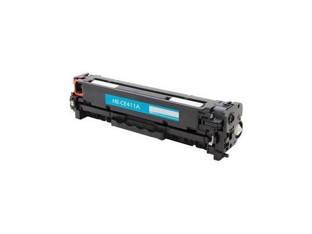 eReplacements CE411A-ER Toner Cartridge (OEM# HP CE411A); Cyan