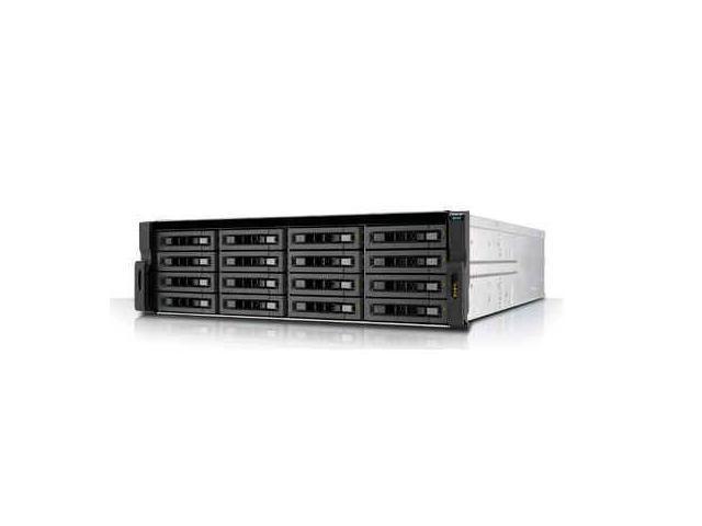 QNAP REXP-1620U-RP-US Rexp-1620U-Rp - Storage Enclosure - 16 Bays ( Sata-600 / Sas-3 ) - Rack-Mountable - 3U