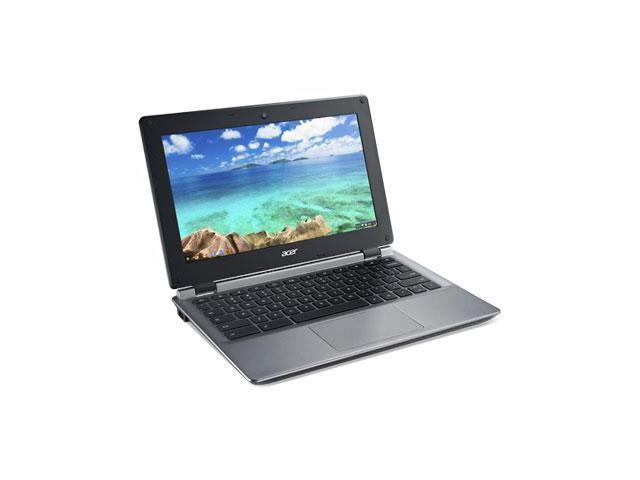 Acer NX.GC1AA.001 Chromebook Intel Celeron N2840 (2.16 GHz) 2 GB Memory 16 GB eMMC SSD 11.6