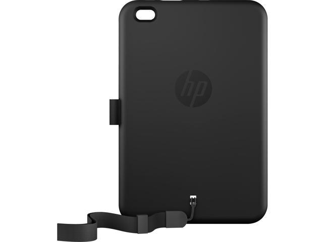 HP L0V31UT Carrying Case For 8 Inch Tablet, Pen - Black - Bump Resistant Interior - Lanyard Strap