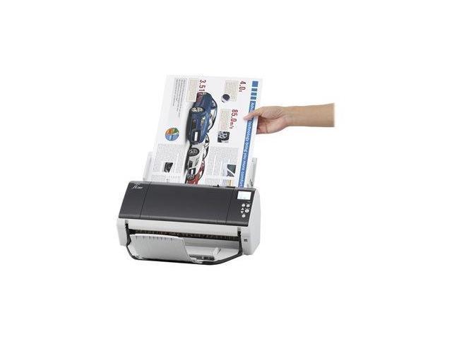 Fujitsu Fi-7480 (PA03710-B005) Duplex 600 dpi USB Color Document Sheetfed Scanner