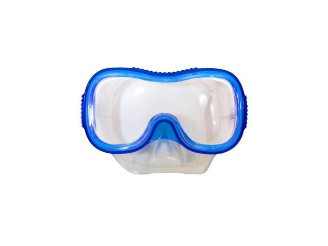 "6"" Blue Diver Down Mask Underwater Swimming Accessory for Children/Teens"