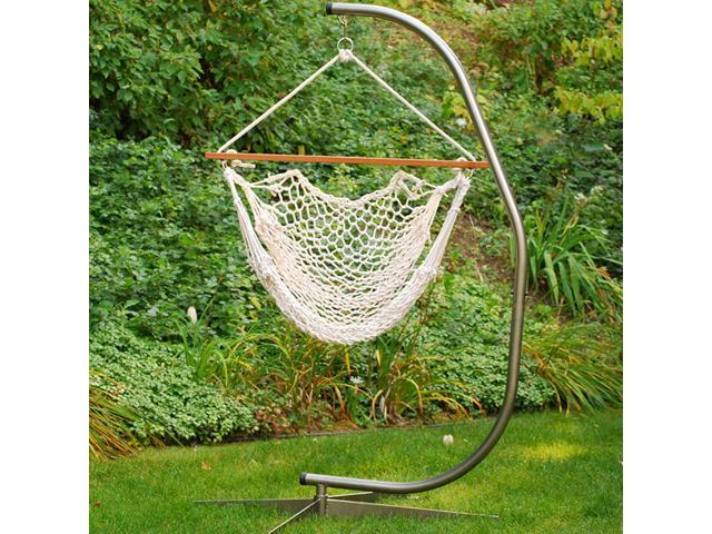 Natural Cotton Rope Hanging Hammock Chair 48