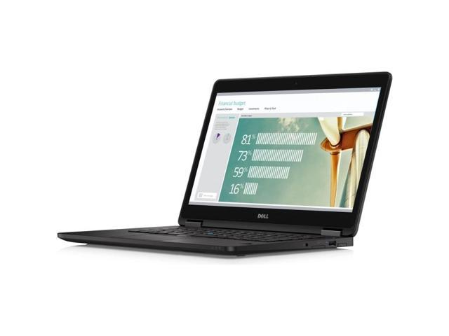 DELL Laptop Latitude E7270 (Y62X0) Intel Core i5 6th Gen 6300U (2.40 GHz) 8 GB Memory 180 GB SSD Intel HD Graphics 520 12.5