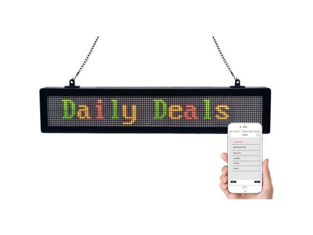 Royal Sovereign RSB-1510 Led Scrolling Messenger Sign App Supported For Ios Or Androids