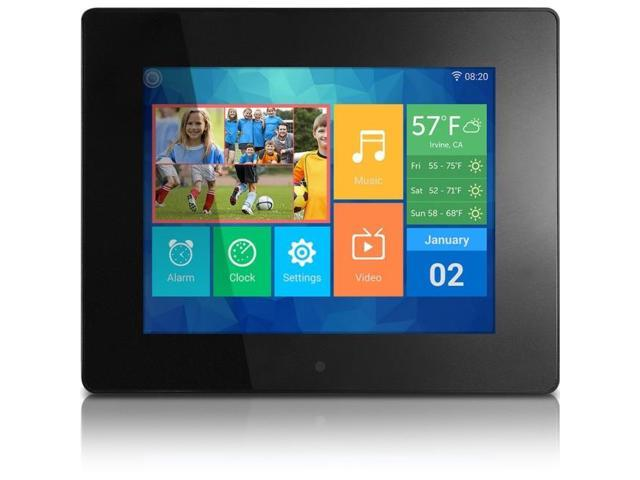 8 wifi digital photo frame with touchscreen ips lcd display and 8gb built in - Wifi Digital Frame