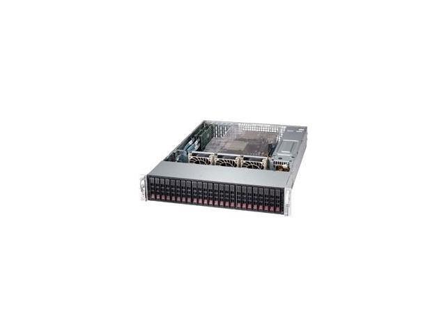 Supermicro SuperServer 2027R-AR24NV Barebone System - 2U Rack-mountable - Intel C602 Chipset - Socket R LGA-2011 - 2 x Processor Support - Black