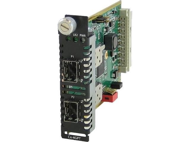 Perle CM-4GPT-DSFP Fiber Mode Converter Module