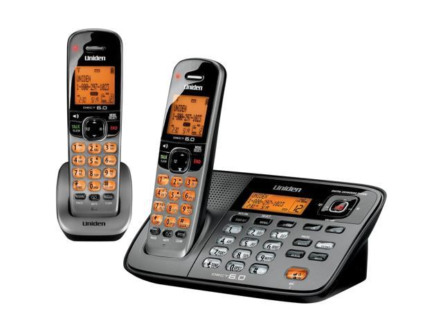 Uniden Cordless Phone - 1.90 GHz - DECT 6.0 - Titanium - Newegg.com