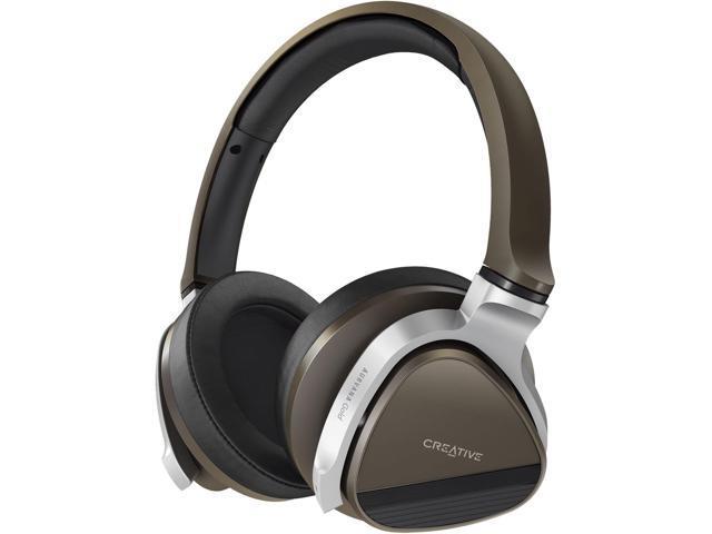 Creative Labs - 51EF0570AA002 - Creative Aurvana Gold Headset - Stereo - Black, Gold - Mini-phone - Wired/Wireless -