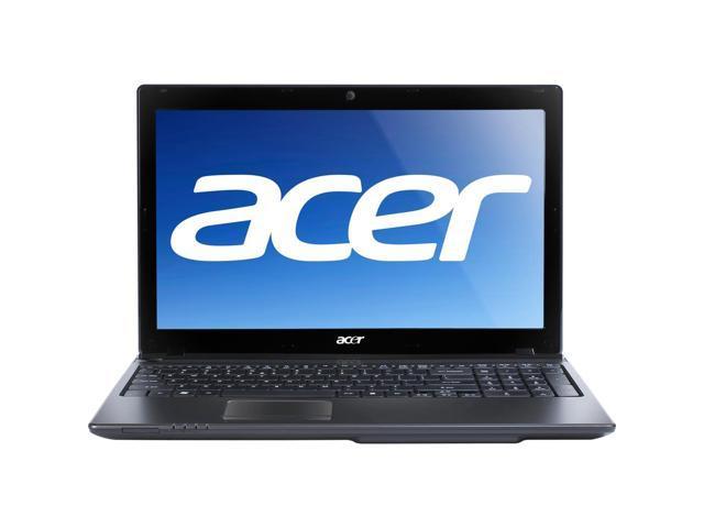 """Acer Laptop Aspire AS5560-Sb609 AMD A6-Series A6-3400M (1.4 GHz) 4 GB Memory 500 GB HDD AMD Radeon HD 6520G 15.6"""" Windows ..."""
