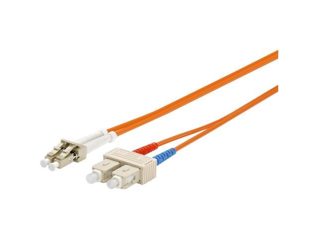 Wirewerks OM2 Fiber Optic Patch Cable 3M MULTIMODE DUPLEX LC-SC