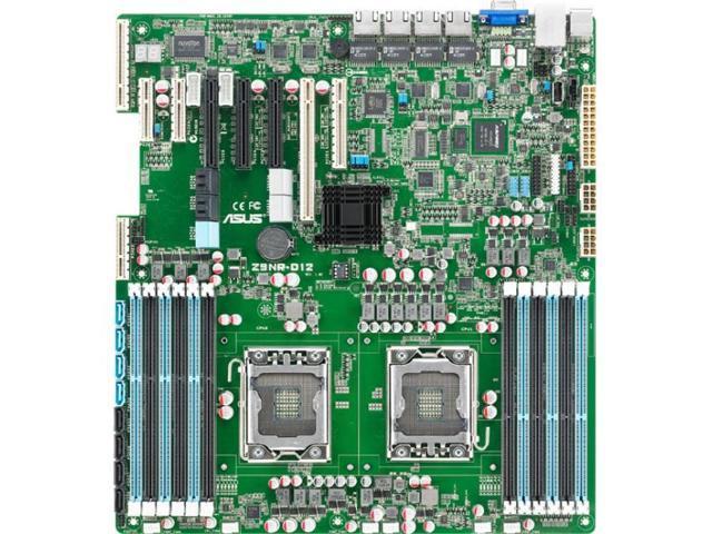 Asus Z9NR-D12 Server Motherboard - Intel C602 Chipset - Socket B2 LGA-1356
