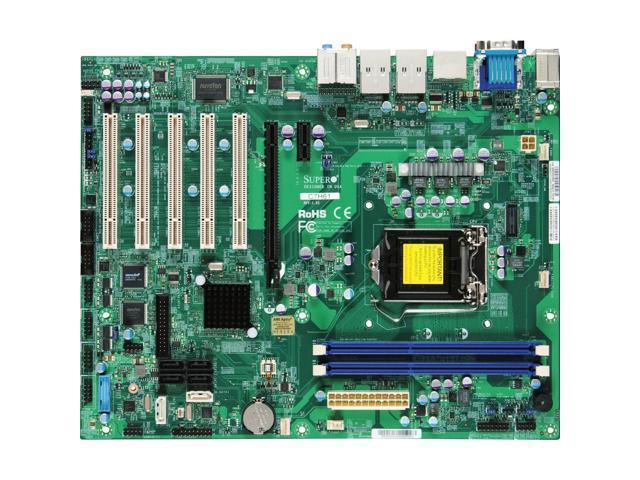 Supermicro C7H61 Desktop Motherboard - Intel H61 Express Chipset - Socket H2 LGA-1155 - Retail Pack