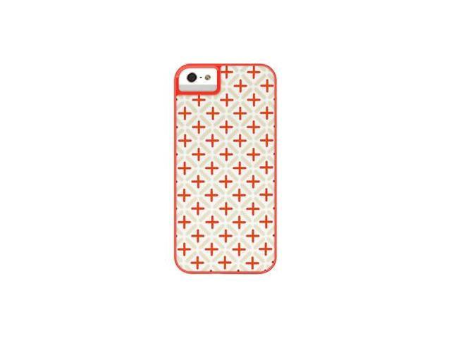 X-Doria Dash Icon Hard Case for iPhone 5 - Orange Bloom 413039