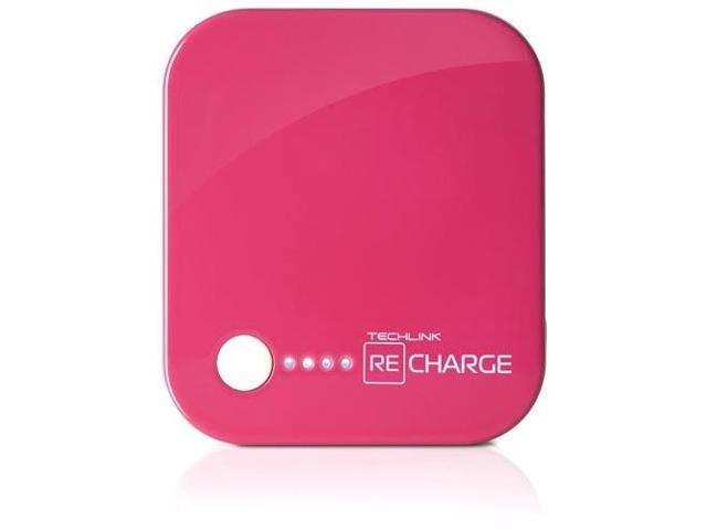 Techlink Recharge 4000 Power + Lightning (Pink)