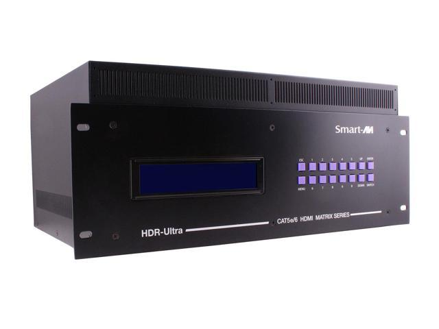 Smartavi HDRULT-0416S 4X16 HDMI/RS-232/IR/TCP/IP CAT5 Expand Matrix Switcher