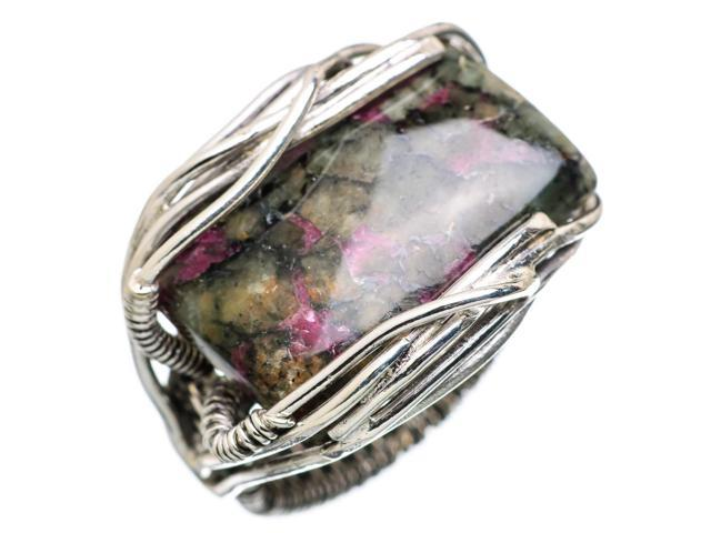 Ana Silver Co Russian Eudialyte 925 Sterling Silver Ring Size 6.25 - Handmade Jewelry RING838735