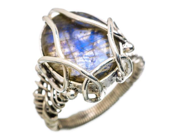 Ana Silver Co Labradorite Ring Size 7.75 (925 Sterling Silver) - Handmade Jewelry RING838849