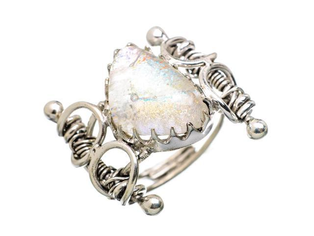 Ana Silver Co Rainbow Moonstone 925 Sterling Silver Ring Size 7 - Handmade Jewelry RING838625