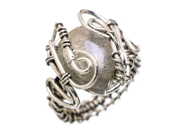Ana Silver Co Labradorite 925 Sterling Silver Ring Size 8.25 - Handmade Jewelry RING838319