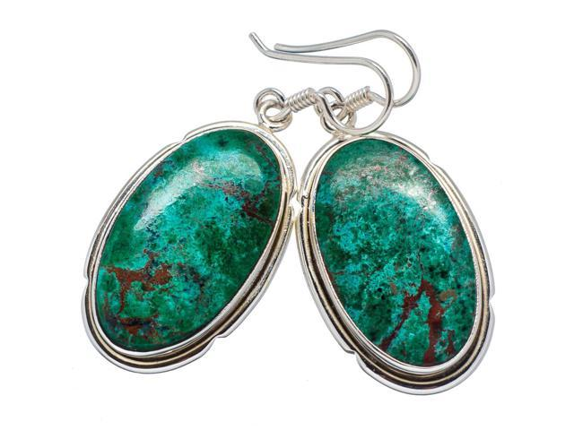 Ana Silver Co Shattuckite Earrings 1 3/4