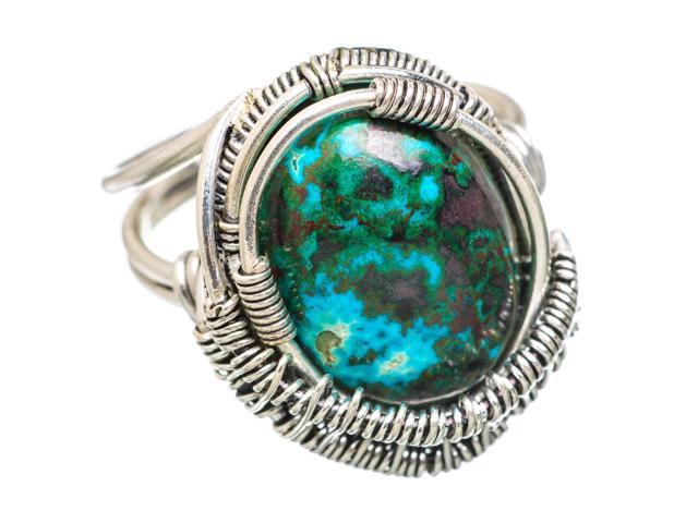 Ana Silver Co Shattuckite 925 Sterling Silver Ring Size 6.75 - Handmade Jewelry RING832721