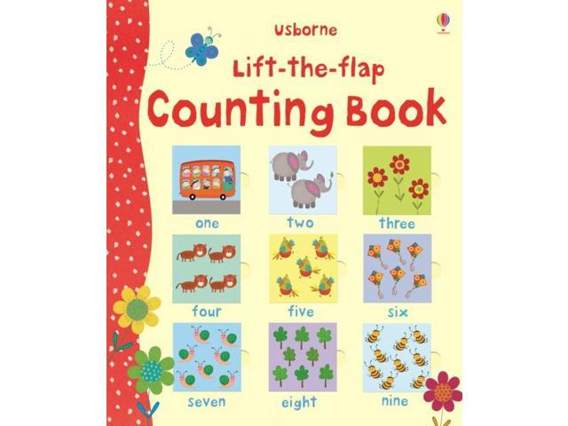 Lift the Flap Counting Book (Usborne Lift-the-Flap-Books) (Hardcover)